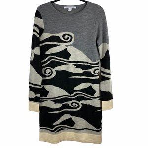 Diane Von Furstenburg Berlin Wool Sweater Dress